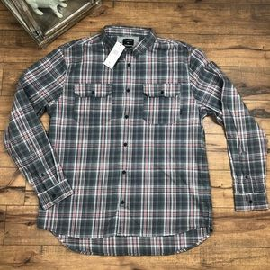 Quicksilver flannel NWT size large / XXL modern